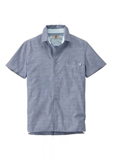 Timberland Apparel Timberland Men's Allendale River Chambray SS Shirt