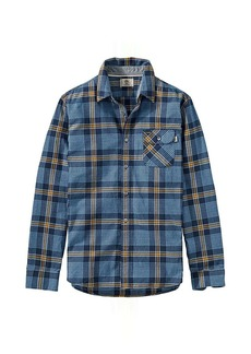 Timberland Apparel Timberland Men's Twill Contemporary Plaid LS Shirt