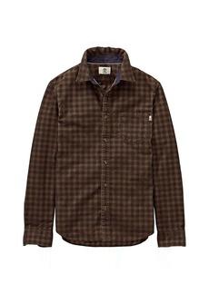 Timberland Apparel Timberland Men's Slim Fine Cord Solid LS Shirt