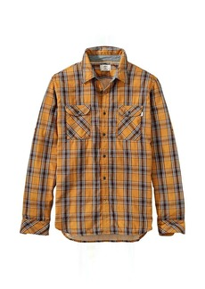 Timberland Apparel Timberland Men's Double Layer Plaid LS Shirt