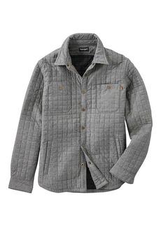 Timberland Apparel Timberland Men's Gunstock River Lightweight Microquilt Overshirt with Primaloft