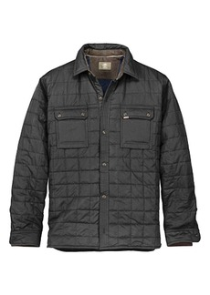 Timberland Apparel Timberland Men's Long Sleeve Millers River Quilted Overshirt