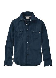 Timberland Apparel Timberland Men's Mill River Linen Cargo LS Shirt