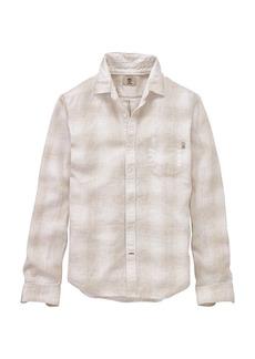 Timberland Apparel Timberland Men's Mill River Linen Ombre Plaid LS Shirt