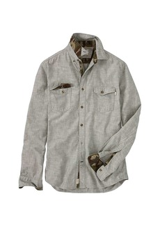 Timberland Apparel Timberland Men's Mumford River Camo Chambray Shirt