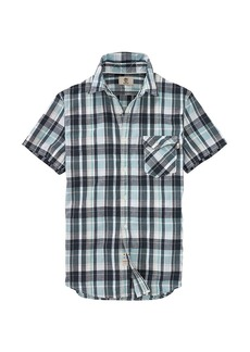 Timberland Apparel Timberland Men's Still River CoolMax Plaid SS Shirt