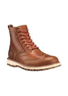 Timberland Britton Hill Leather Wingtip Boots