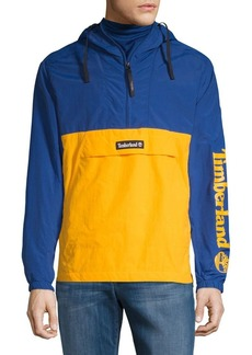 Timberland Colorblock Long-Sleeve Windbreaker