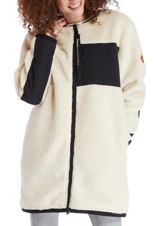 Timberland Colorblocked Long Fleece Jacket
