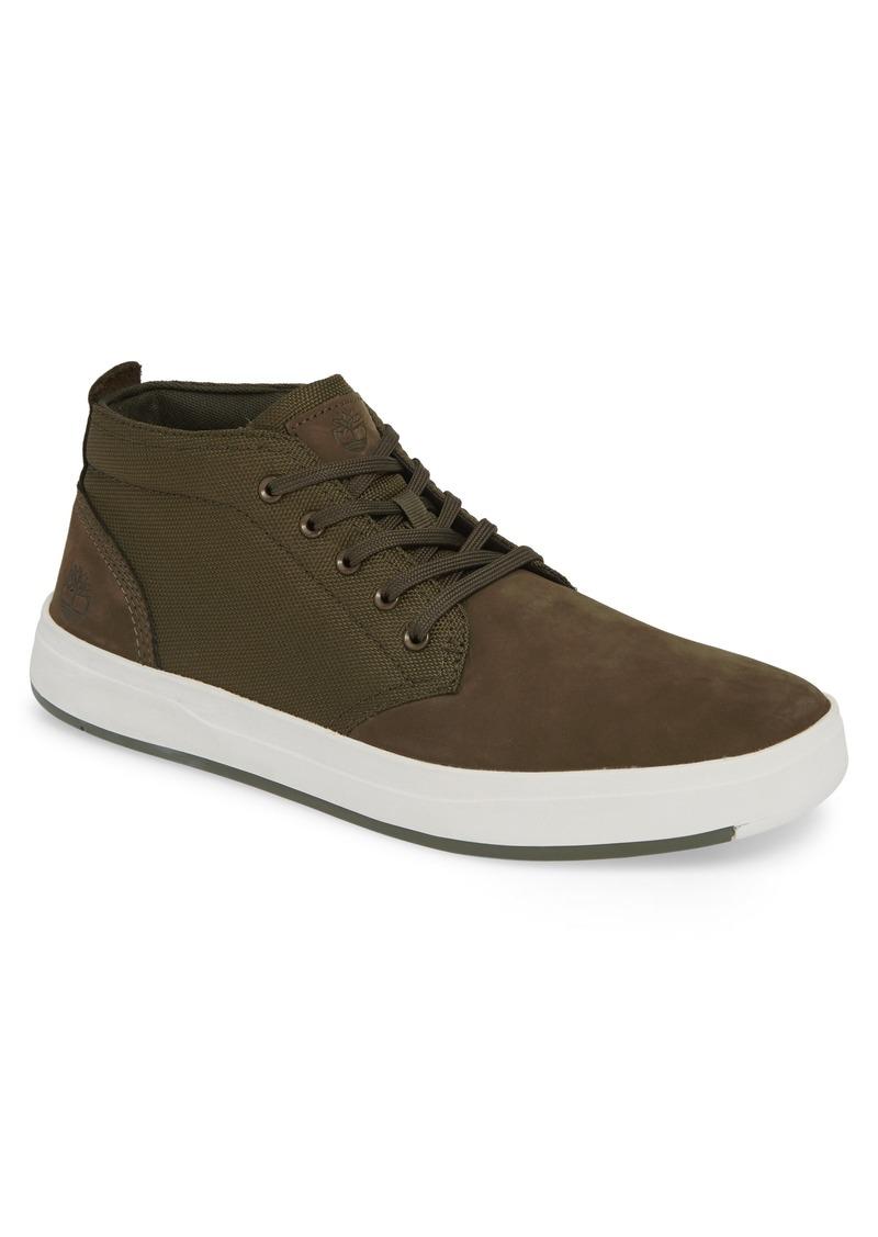 Timberland Davis Square Mid Top Chukka Sneaker (Men)