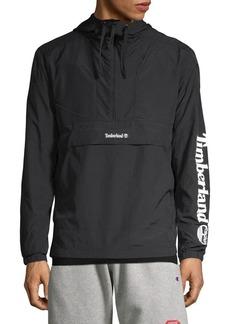 Timberland Half-Zip Hooded Windbreaker