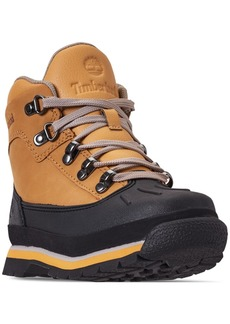 Timberland Little Boys' Euro Hiker Shell Toe Boots from Finish Line
