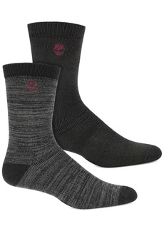 Timberland Men's 2-Pk. Boot Socks
