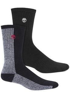 Timberland Men's 2-Pk. Colorblocked Boot Socks