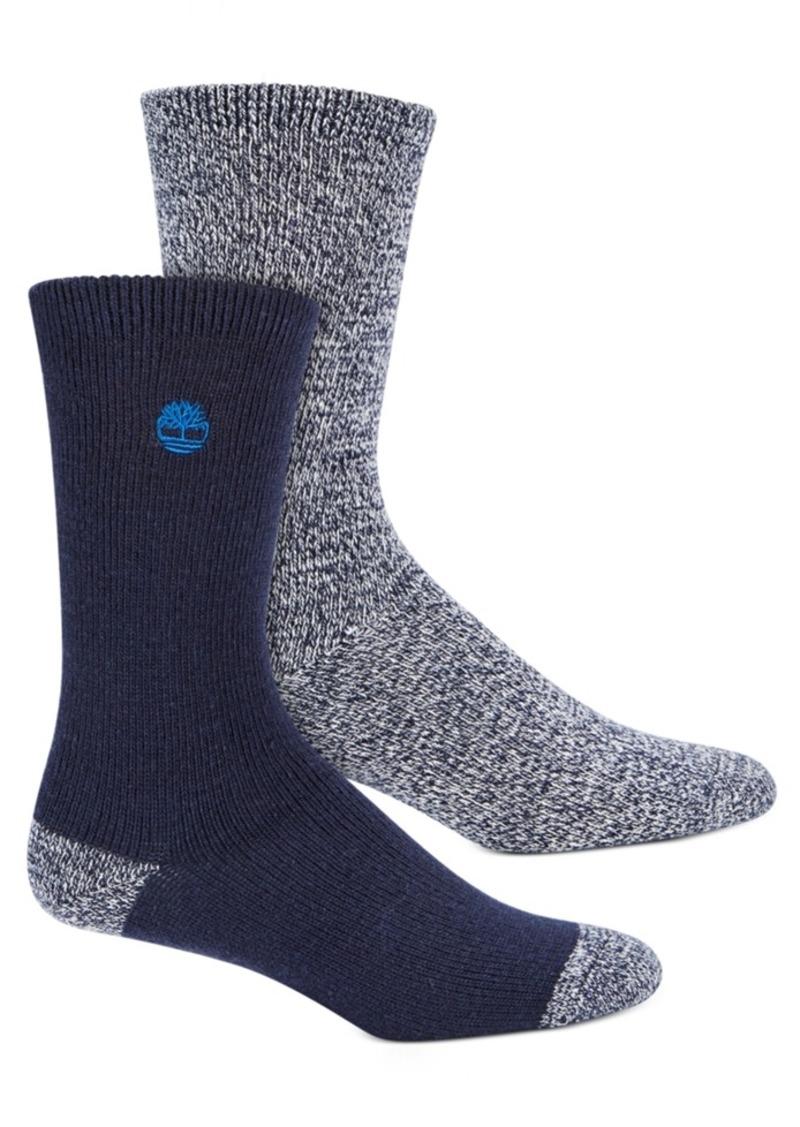 Timberland Men's 2-Pk. Marled Boot Socks