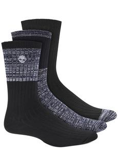 Timberland Men's 3-Pk. Boot Socks