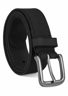 Timberland Men's 35Mm Classic Jean Belt black silvery