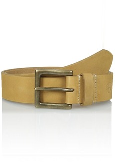 Timberland Men's 38 MM Boot Leather Belt