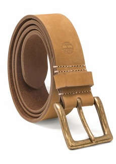 Timberland Men's  Mm Boot Leather Wheat Belt