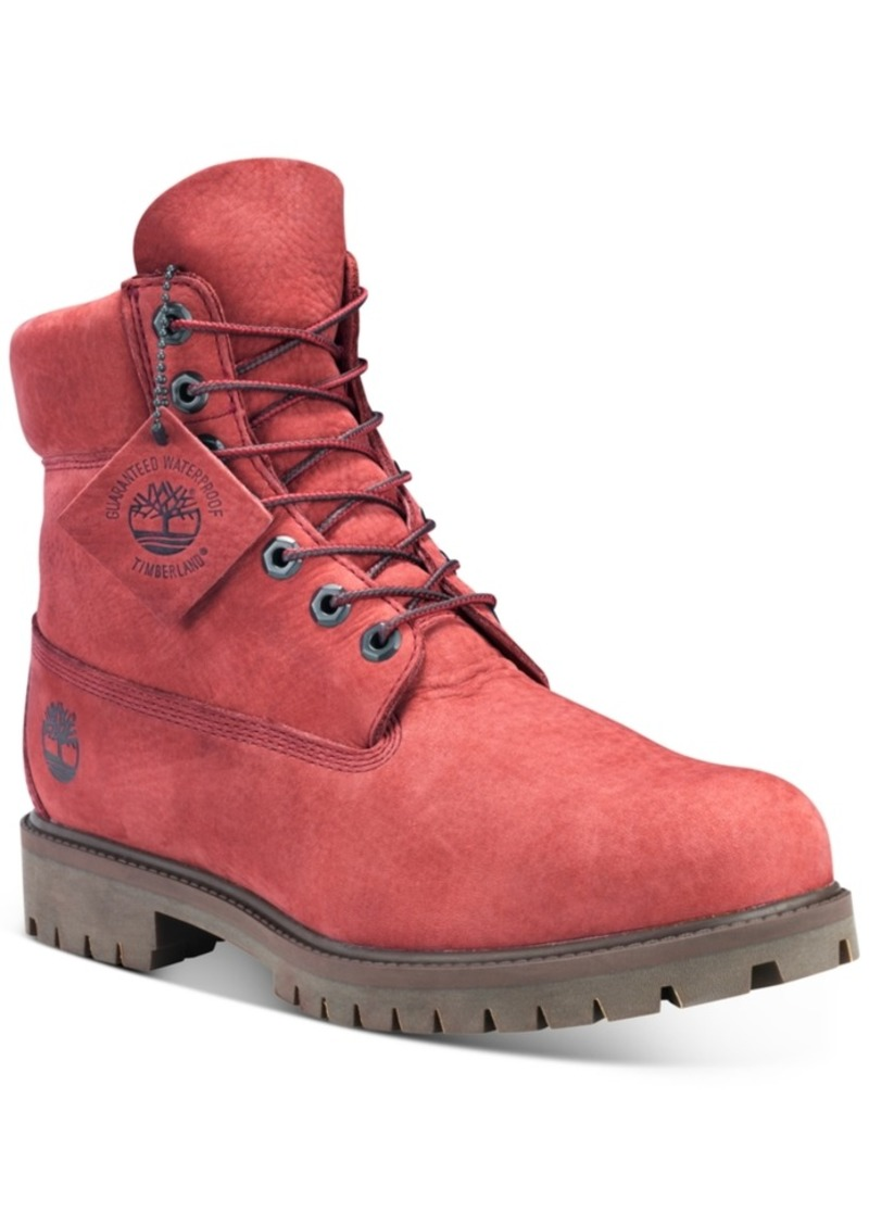 "Timberland Men's 6"" Premium Waterproof Boots Men's Shoes"