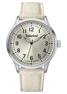 Timberland Men's Alford Beige/Silver/Cream Watch