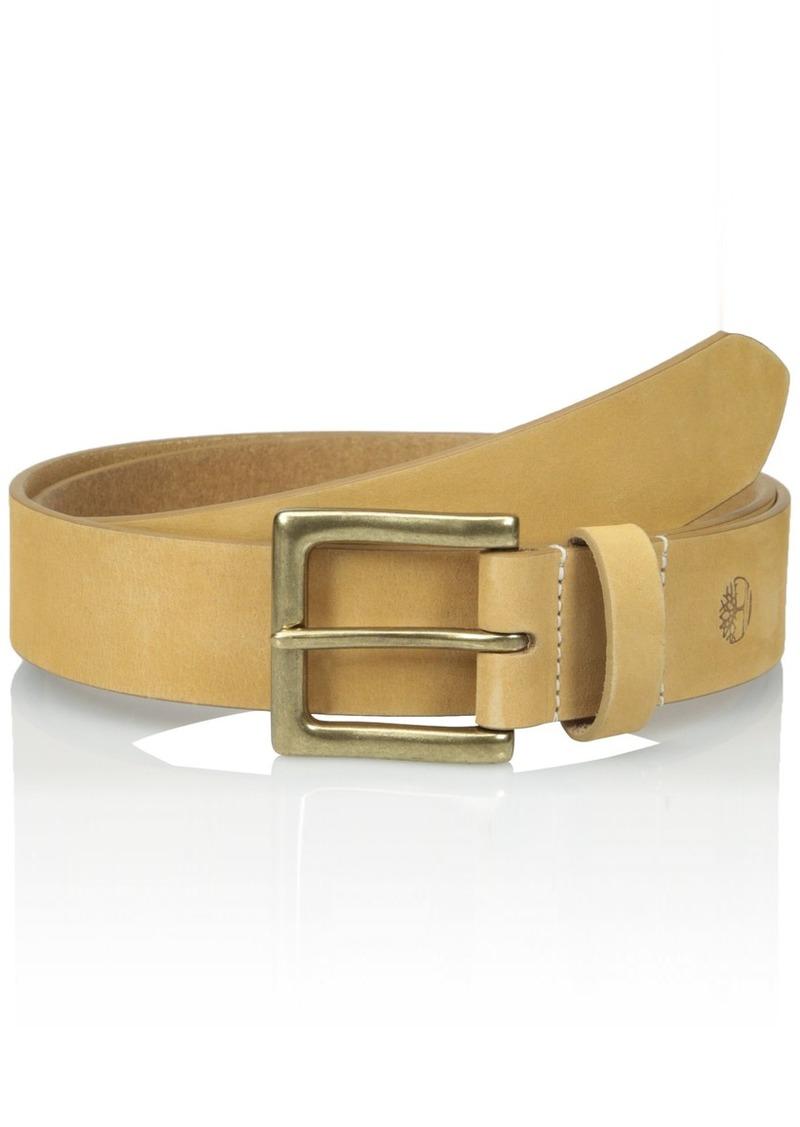 69506dcb20a Timberland Timberland Men's Big-Tall 38 MM Boot Leather Belt | Belts