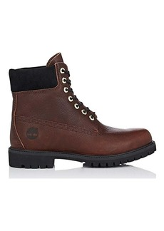 "Timberland Men's BNY Sole Series: ""6-Inch"" Grained Leather Boots"