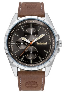 Timberland Men's Boxbourough Multifunction Brown/Silver/Black Watch