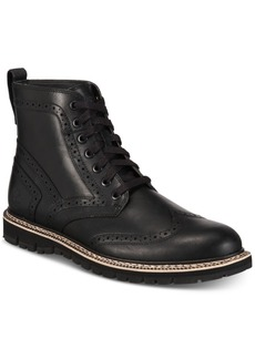 Timberland Men's Britton Hill Waterproof Wingtip Boots Men's Shoes