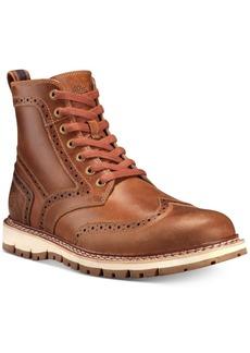Timberland Men's Britton Hill Wingtip Boots Men's Shoes