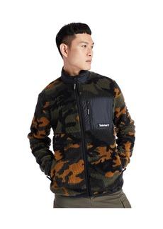 Timberland Men's Camo Sherpa Fleece Jacket
