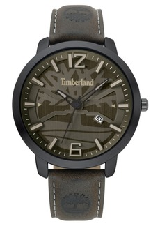 Timberland Men's Clarksville Dark Brown/Black/Gray Watch