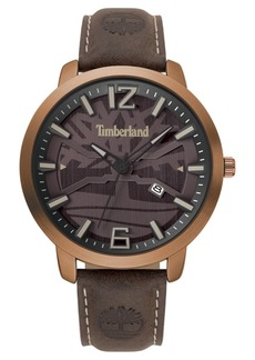 Timberland Men's Clarksville Dark Brown/Copper Watch