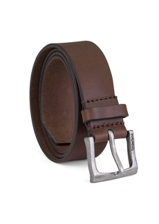 Timberland Men's Classic Leather Jean Belt 1.4 Inches Wide (Big & Tall Sizes Available)
