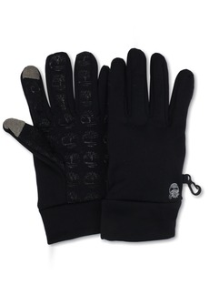Timberland Men's Commuter Glove Stretch Tree Logo Palm with Touchscreen Technology  Small/Medium