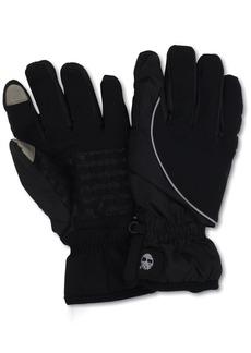 Timberland Men's Commuter Soft Shell Glove Printed Logo with Touchscreen Technology