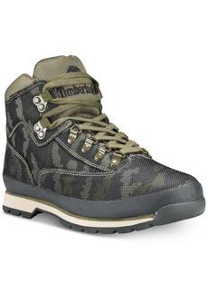 Timberland Men's Euro Hiker Jacquard Boots Men's Shoes