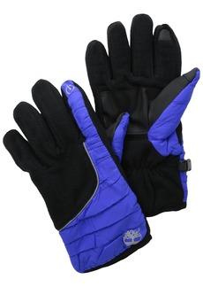 Timberland Men's Fleece Soft Shell Glove with Touch Screen Technology