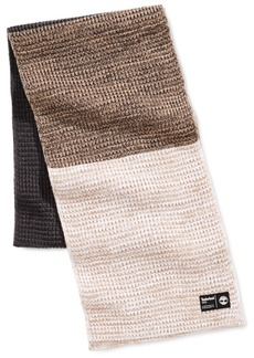 Timberland Men's Heat Retention Colorblocked Thermal Muffler, Created for Macy's