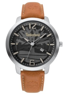 Timberland Men's larksville Brown/Silver/Black Watch