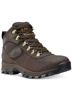 Timberland Men's Mt. Maddsen Waterproof Hiking Boots Men's Shoes