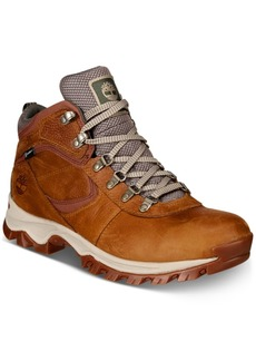 Timberland Men's Mt. Maddsen Full-Grain Waterproof Boots Men's Shoes