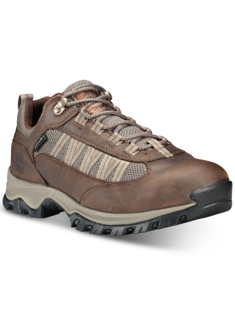 Timberland Men's Mt. Maddsen Lite Low Boots Men's Shoes