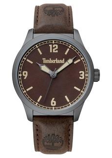 Timberland Men's Orrington Dark Brown/Gunmetal Watch