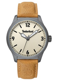 Timberland Men's Orrington Tan/Gunmetal/Cream Watch