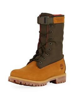 Timberland Men's Premium Gaiter Boot with Canvas Trim