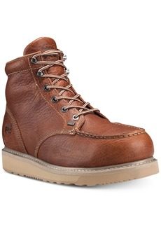 Timberland Men's Pro Barstow Wedge Rust Boots Men's Shoes