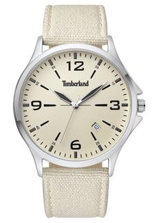 Timberland Men's Provincetown Beige/Silver/Cream Watch