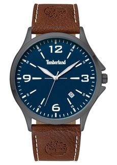 Timberland Men's Provincetown Brown/Gunmetal/Blue Watch