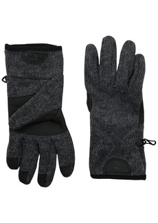 Timberland Men's Ribbed Knit Wool Blend Glove with Touchscreen Technology